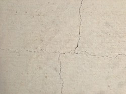 Slab cracks