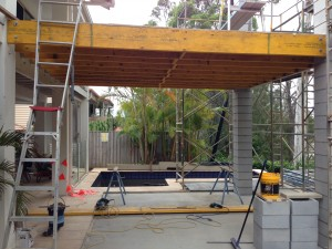 Timber deck joists