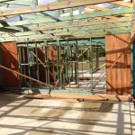 Timber frame extension and renovation