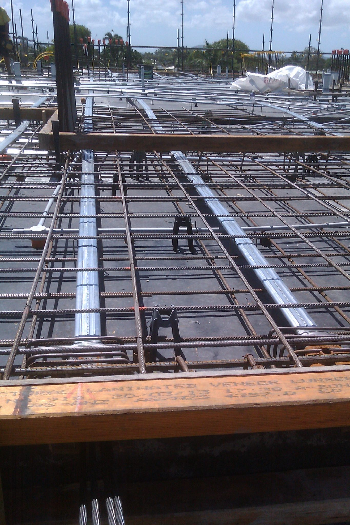 Post-tensioned slab photo | Structural Engineers