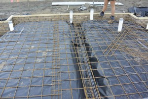 Raft slab construction