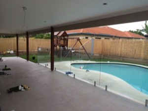 Verandah extension almost finished