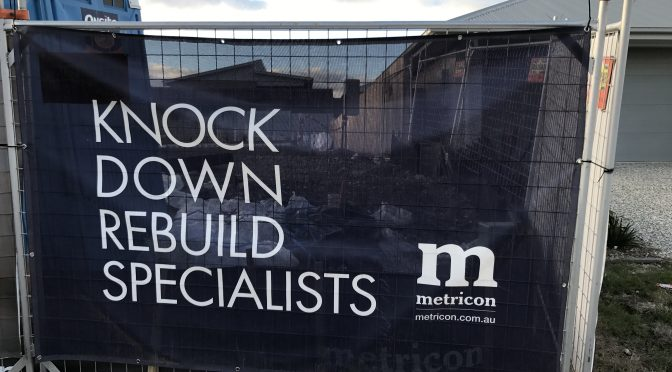 Metricon ordered to rebuild house