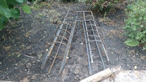 Underpinning footing reinforcement
