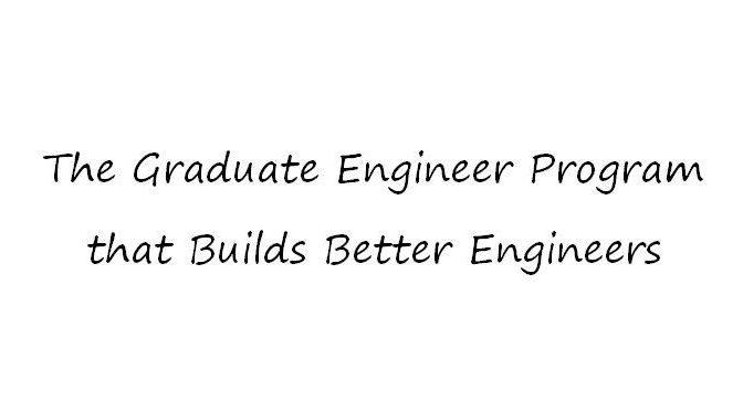Graduate Engineer Program