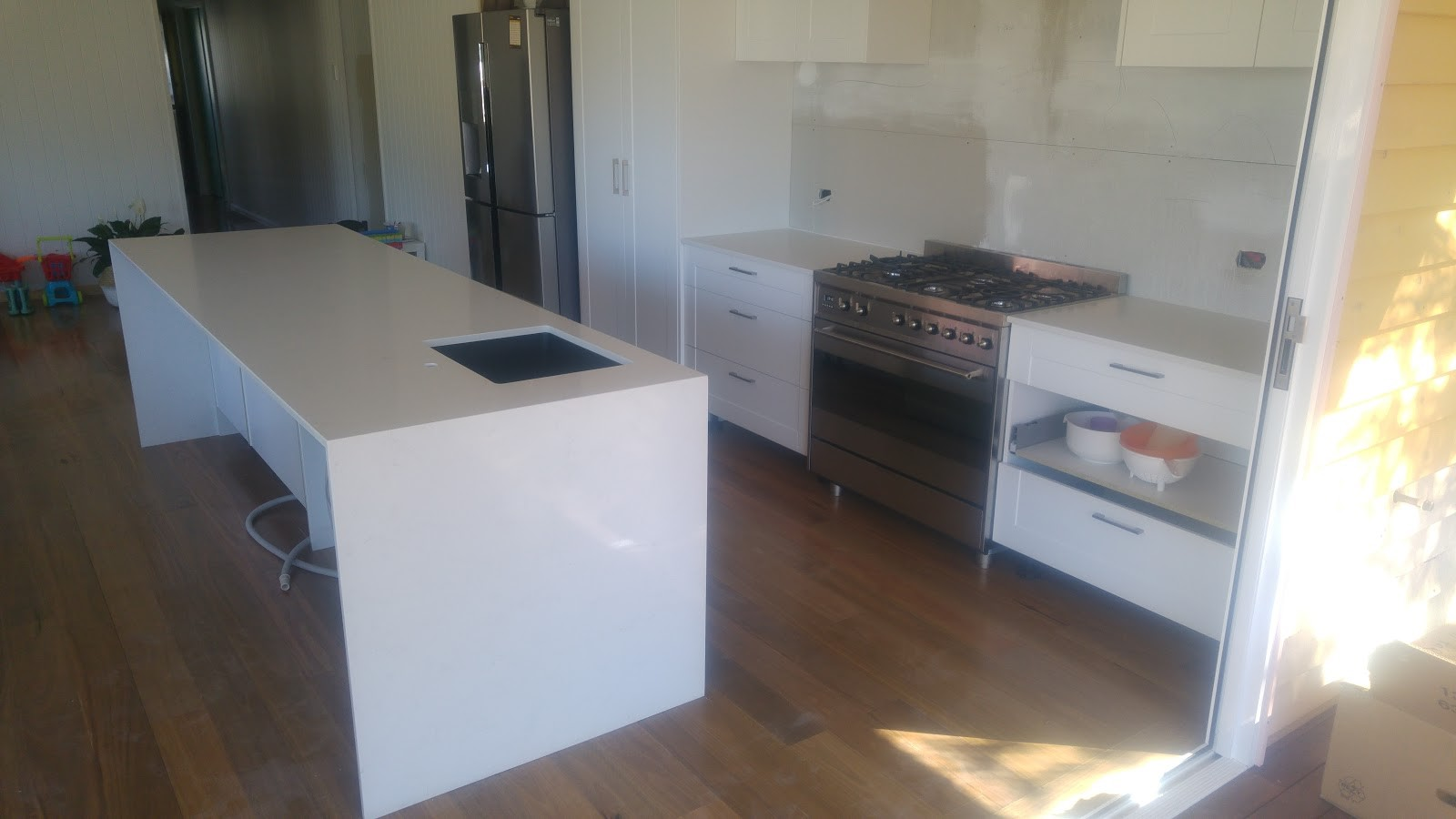 Photo of a fabulous new kitchen