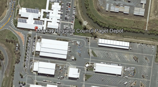 Mackay Council Depot Aerial Plan